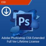 Adobe Photoshop CS6 Extended Full Ver Lifetime License-esd