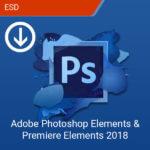 Adobe Photoshop Elements & Premiere Elements 2018-esd