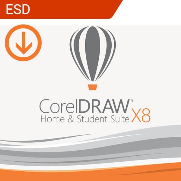 CorelDRAW X8 Home & Student Suite-esd