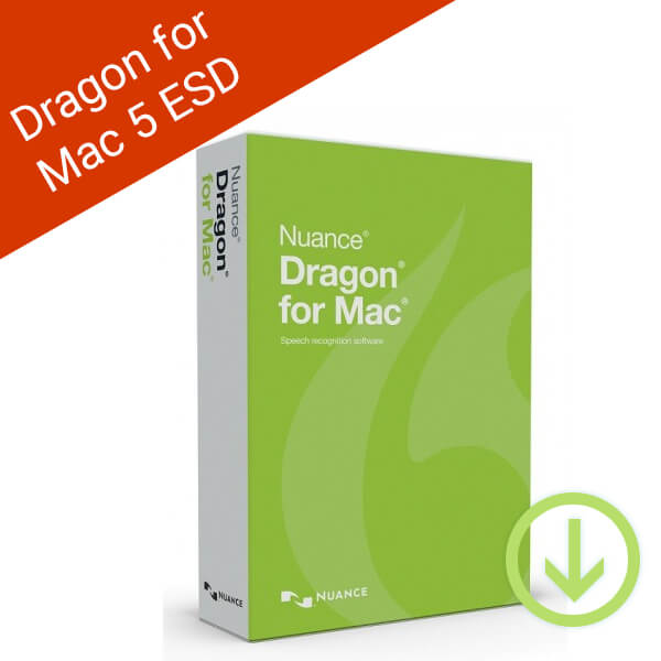 Dragon for Mac 5 ESD-2
