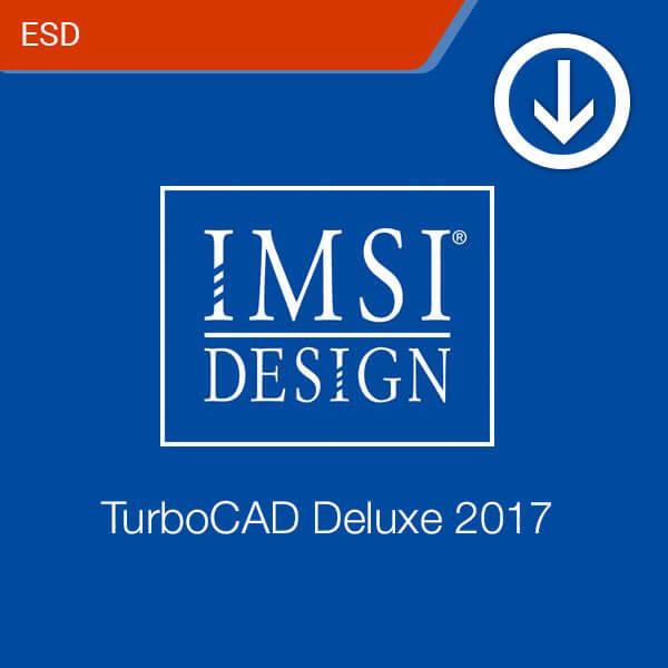 TurboCAD Deluxe 2017-esd