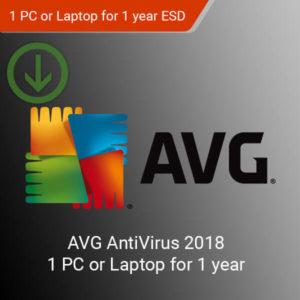 AVG AntiVirus 2018