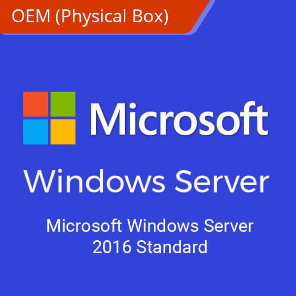 Microsoft Windows Server 2016 Standard-physical-box