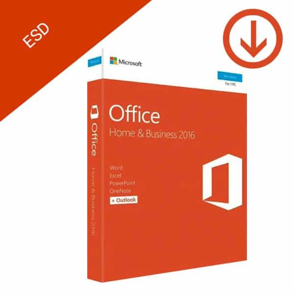 Microsoft Office Home and Business 2016 Windows ESD-2
