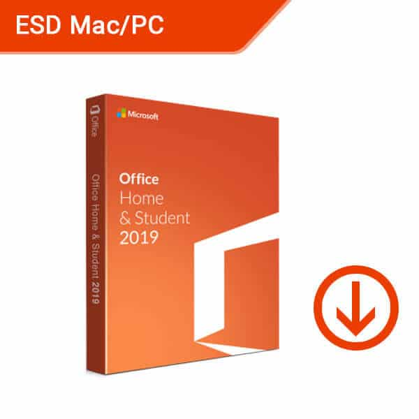 Microsoft Office Home and Student 2019 For Mac Windows ESD-1