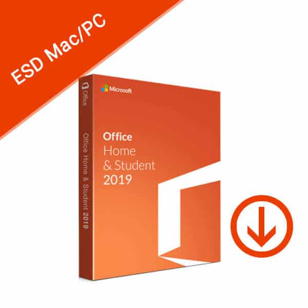 Microsoft Office Home and Student 2019 For Mac Windows ESD-2