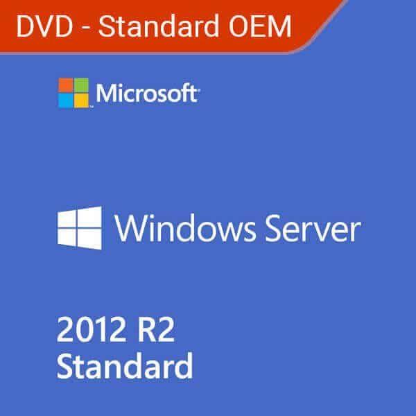 Win-Server-2012-R2-Standard OEM – DVD