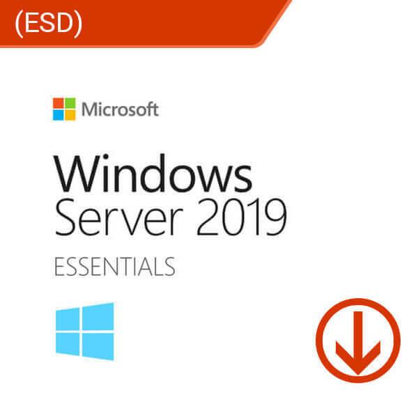 Microsoft Windows Server Essentials 2019 (ESD)