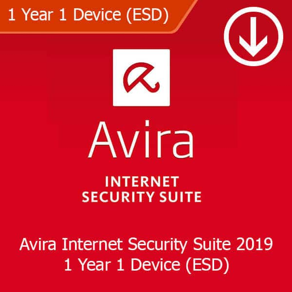 Avira Internet Security Suite 2019 1 Year 1 Device (ESD)