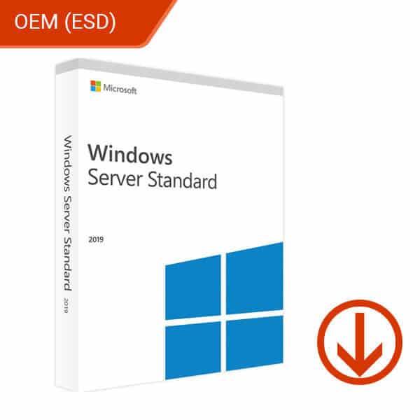 Microsoft Windows Server 2019 Standard OEM – 1