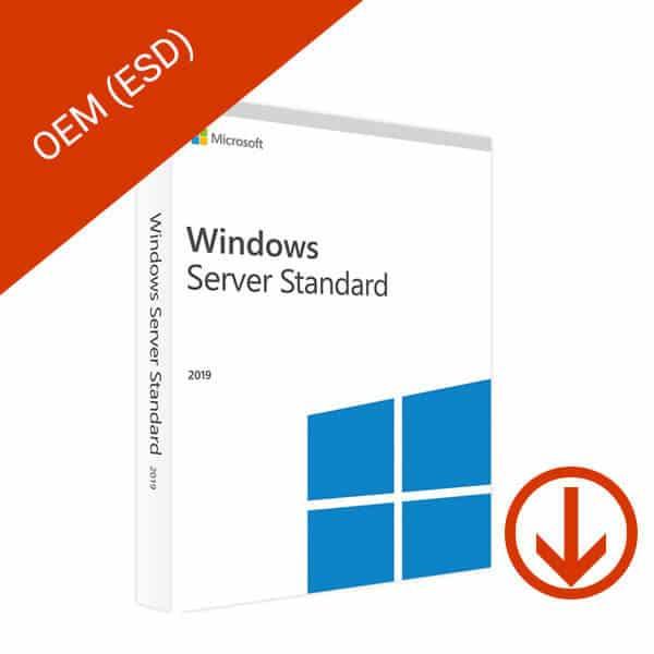 Microsoft Windows Server 2019 Standard OEM – 2