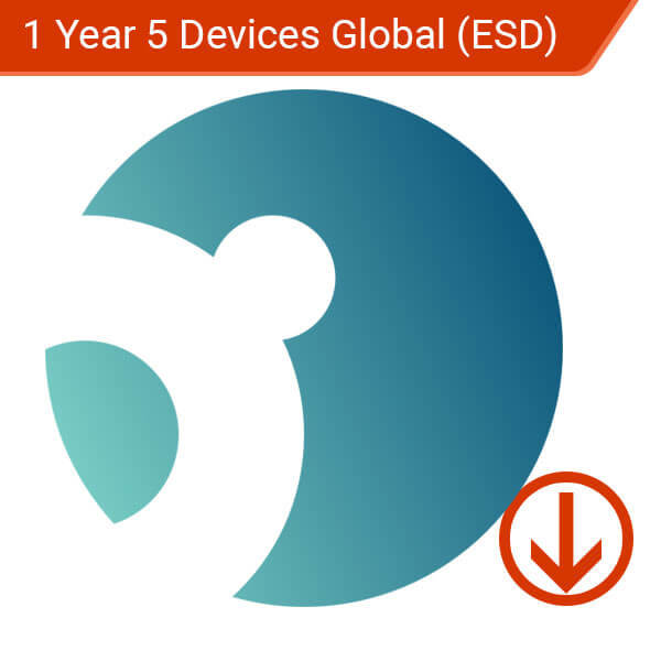 1 Year 5 Devices Global (ESD) – 1