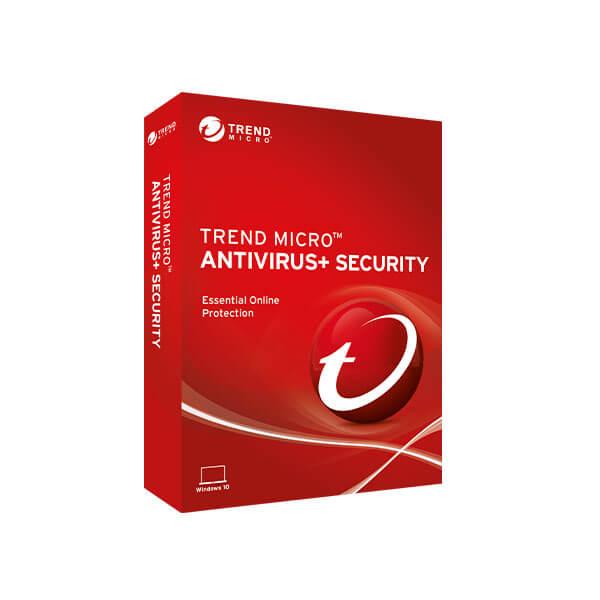 Trend Micro Antivirus+ 2019 – box