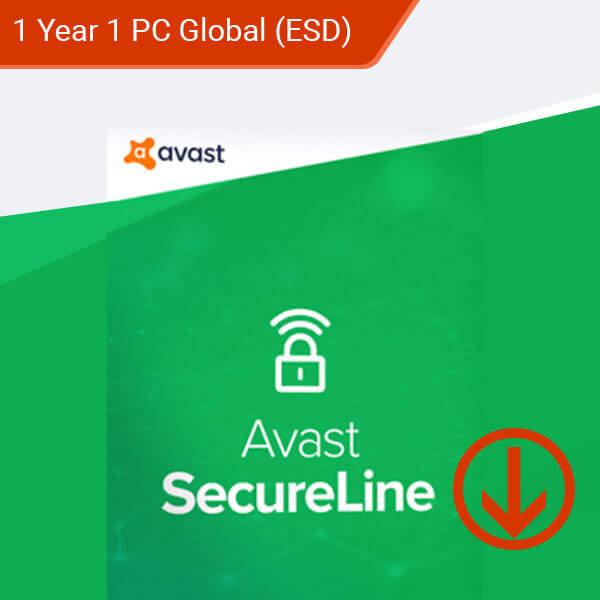 antivirus secureline – 1 Year 1 Device Global