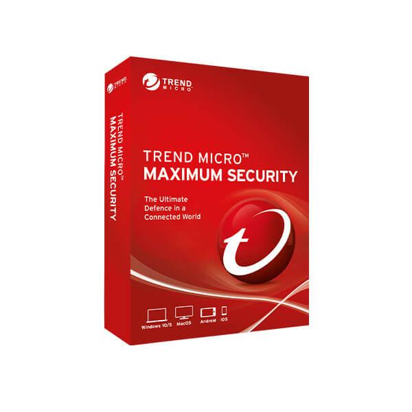 Trend Micro Maximum Security 2019 -box