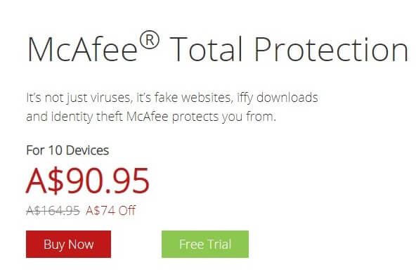 McAfee Flagship Package