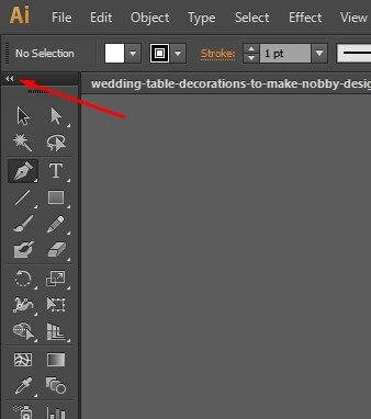 illustrator cs6 dockable tools