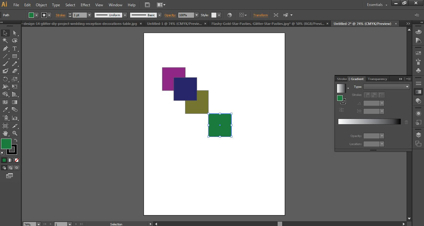 Adobe illustrator cs6 workspace