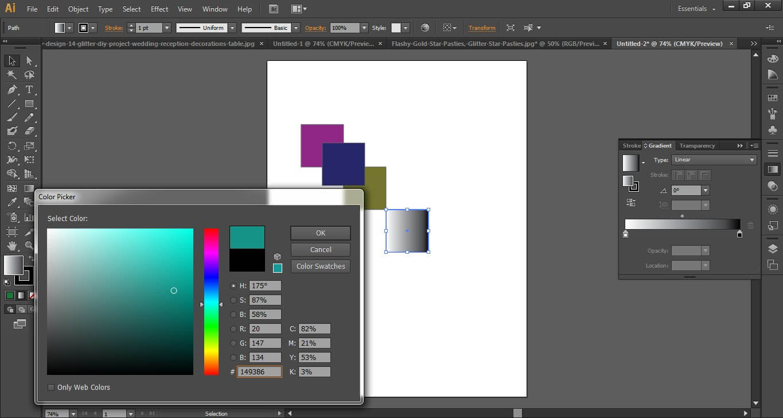 Adobe illustrator cs6 interface