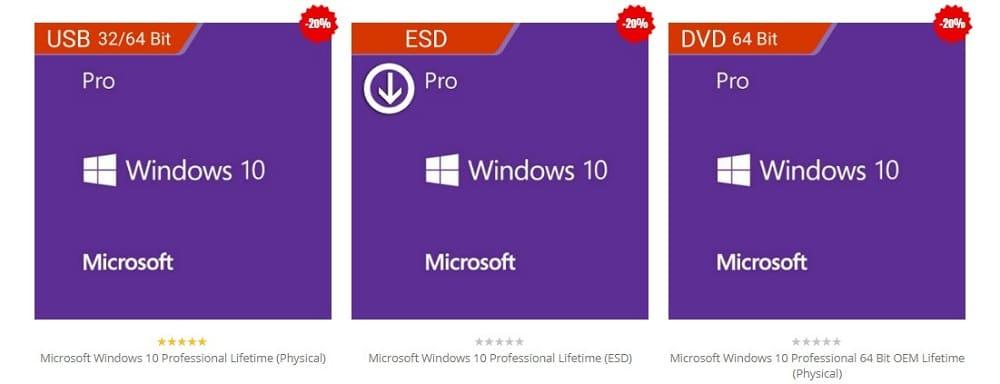 Softvire Windows 10 sale