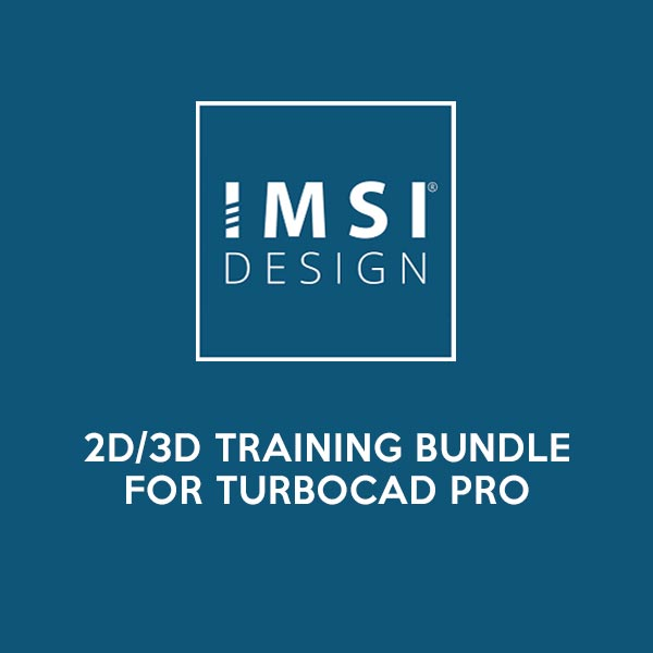 2D/3D Training Bundle for TurboCAD Pro