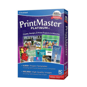 broderbund printmaster platinum