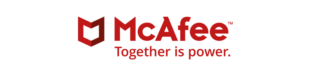 McAfee Page Banner