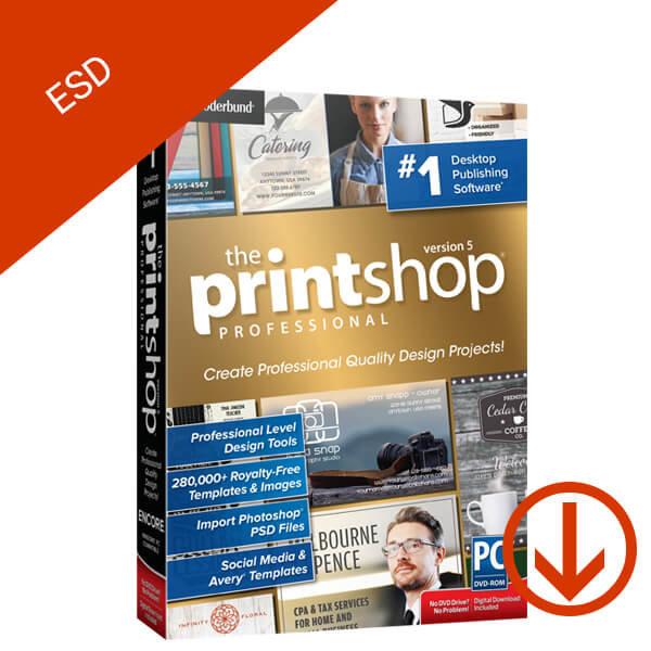 The Print Shop 5 Pro – ESD – 2