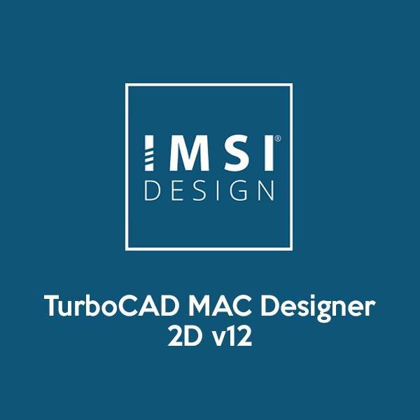TurboCAD MAC Designer 2D v12