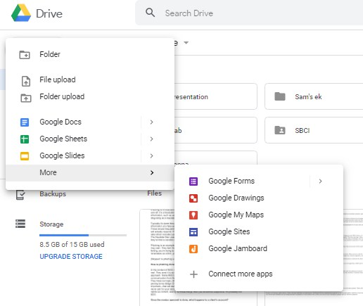 these are some of the g suite apps