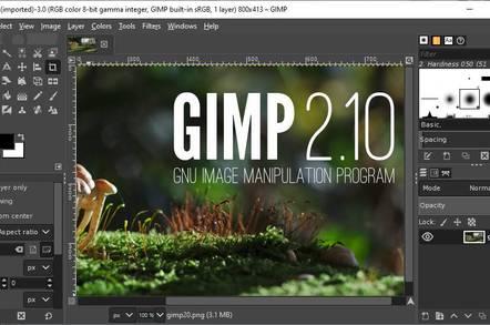 gimp flyer maker software