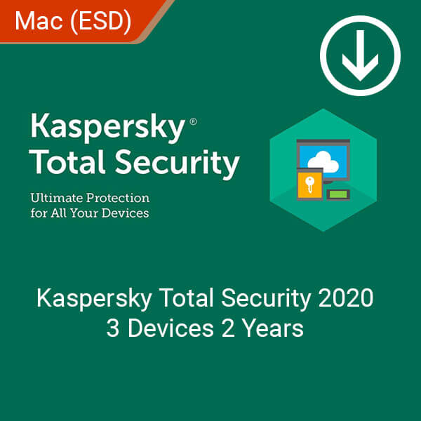 Kaspersky Total Security 3 Devices 2 Years, Softvire Australia