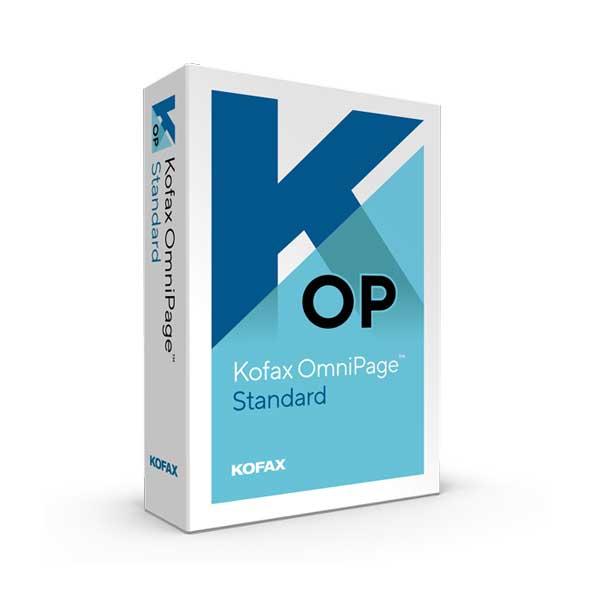 Kofax OmniPage-Standard-Box