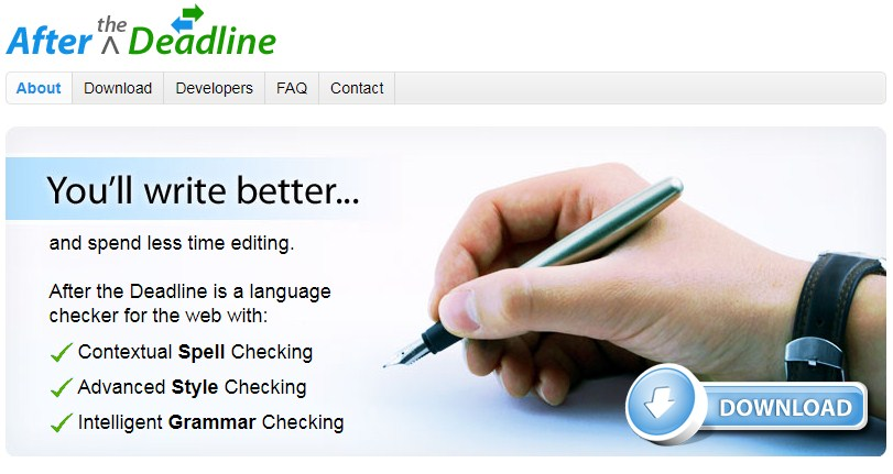 after the deadline grammar checker for ms word