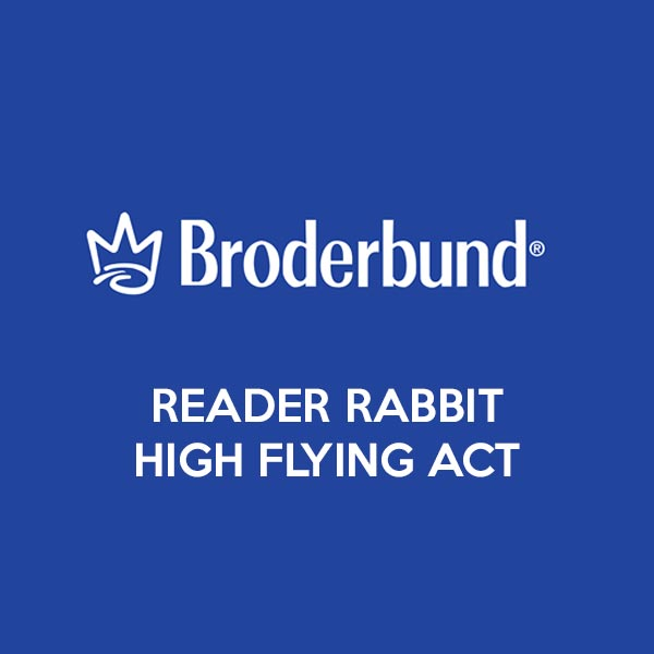Broderbund Reader Rabbit High Flying Act
