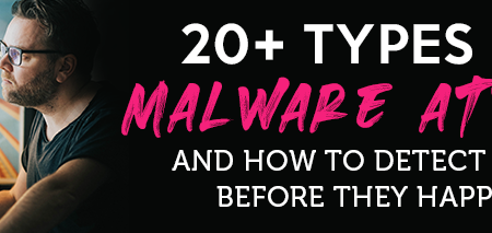 20+ Types of Malware Attack and How to Detect Them Before They Happen