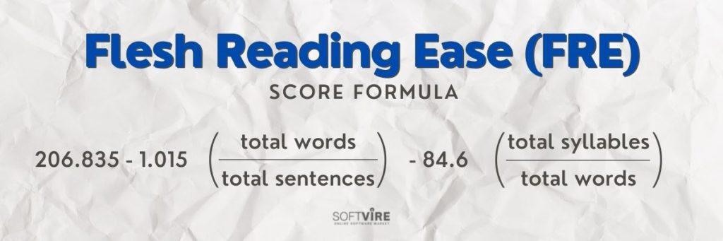 Flesh Reading Ease Score - Softvire Global Market